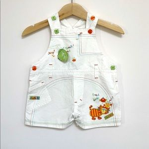 M. Ma. Me. Baby Overalls 6-12M